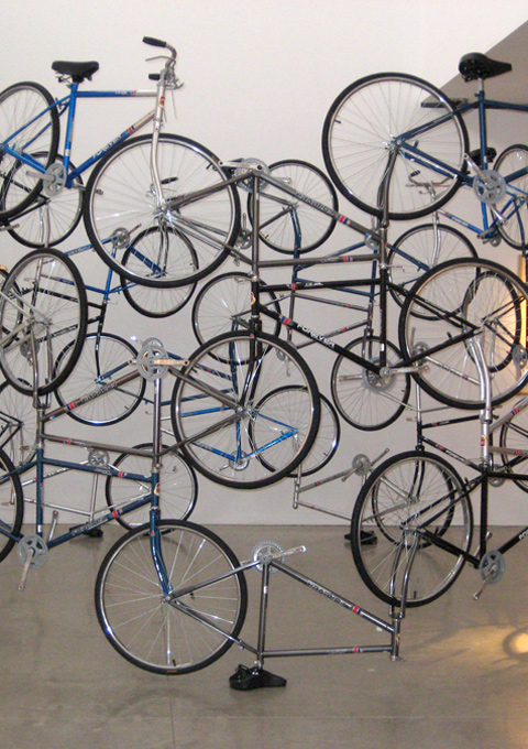 Ai Weiwei - 'Forever' Bicycles, 2003