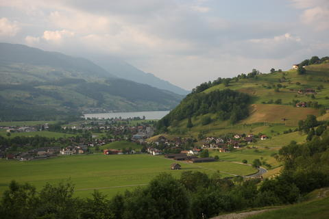 Village of Giswil, Obwalden, CH