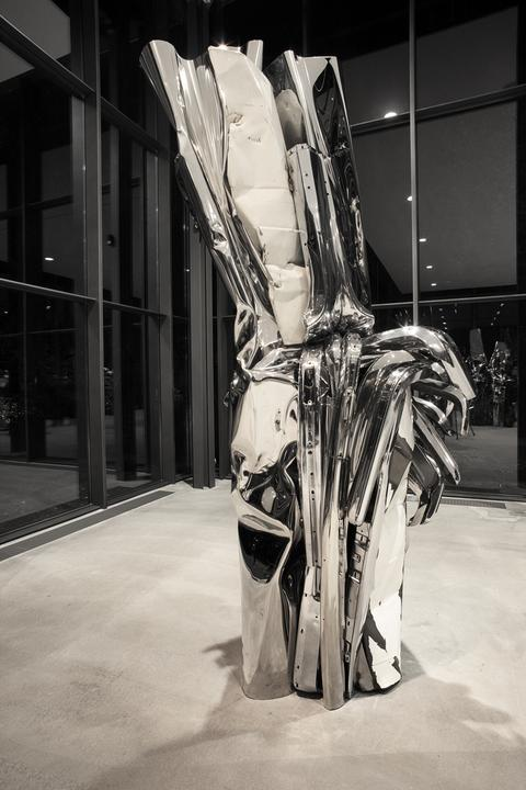John Chamberlain - Metal Sculptures