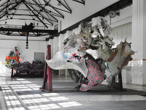 Frank Stella - exhibition 2011, Giswil